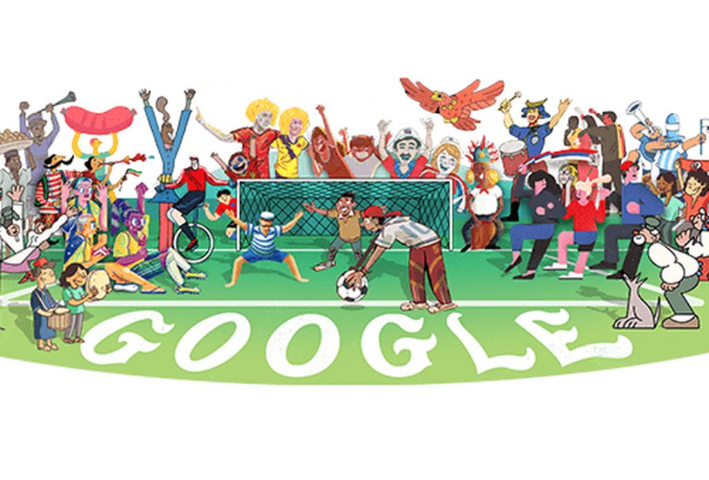 Bataie mare pe Google Doodle