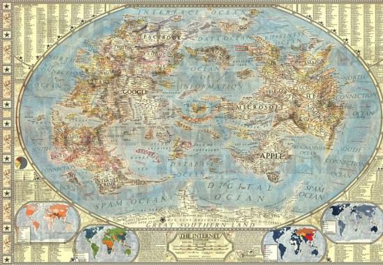 Harta lumii a internetului