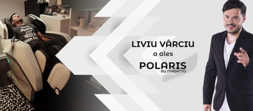 Fotoliul de masaj Polaris, terapie medicala direct in locuinta ta